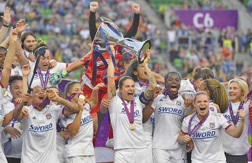 Olympique de Lyon se proclamó campeón de la Liga de Campeones femenina