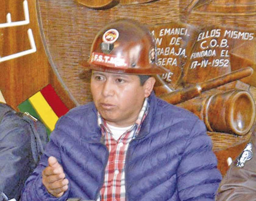 Huarachi negó implicancia en el caso de destinos policiales