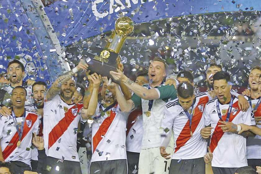 River Plate se consagró campeón de la Recopa