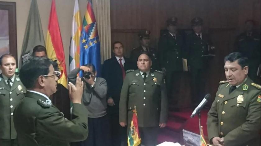 Jhonny Coronel es el nuevo subcomandante de la Policía de Bolivia