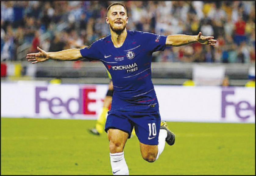 Real Madrid ficha al jugador belga Eden Hazard en 100 millones de euros