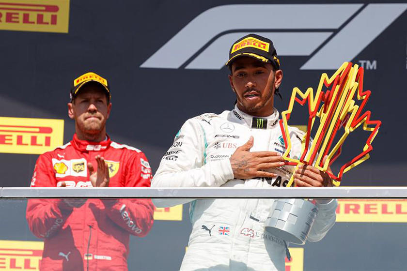 Hamilton reforzó su liderato al ganar el GP de Canadá