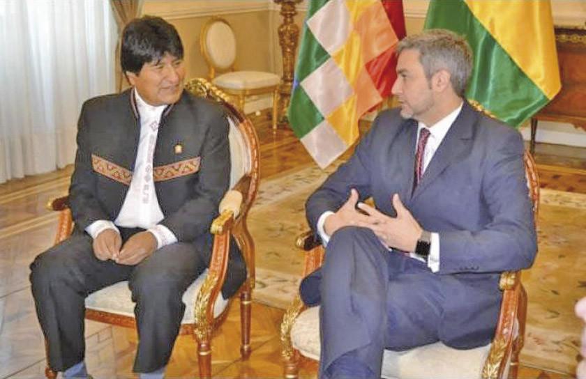 Los gobiernos de Paraguay y Bolivia abren reuniones