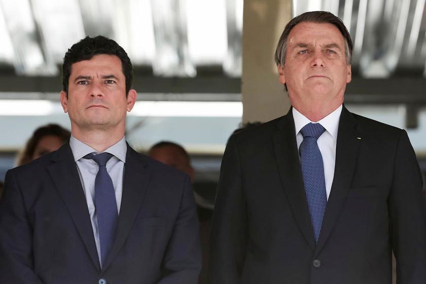 Bolsonaro respalda a Moro ante la sospecha sobre juicio a Lula