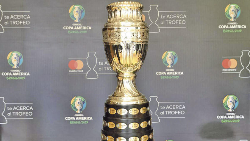 Mañana le obsequiamos el fixture de la Copa América