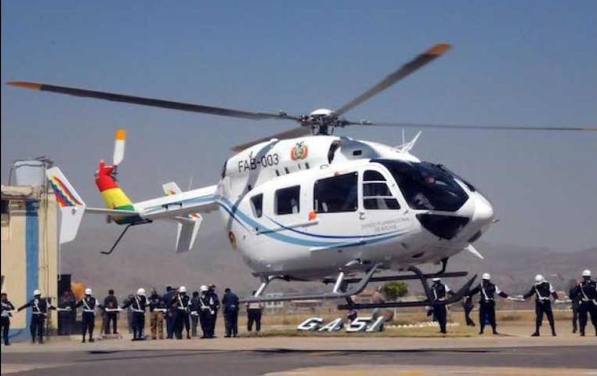FAB suspende actividad aérea del piloto de Evo que se inscribió al MAS