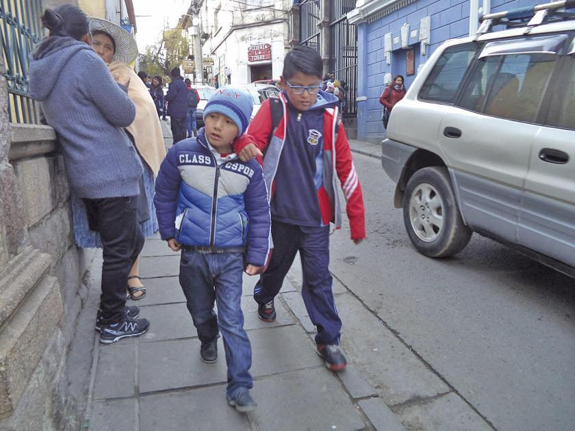 El horario de invierno se aplica sin modificaciones en Potosí