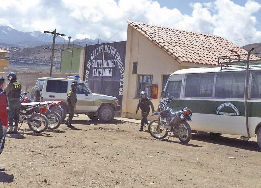 Funcionario judicial es enviado a Cantumarca