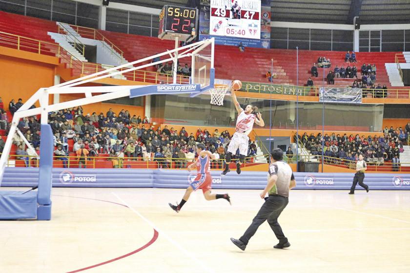 Nacional Potosí recibe hoy al subcampeón de la Libobásquet