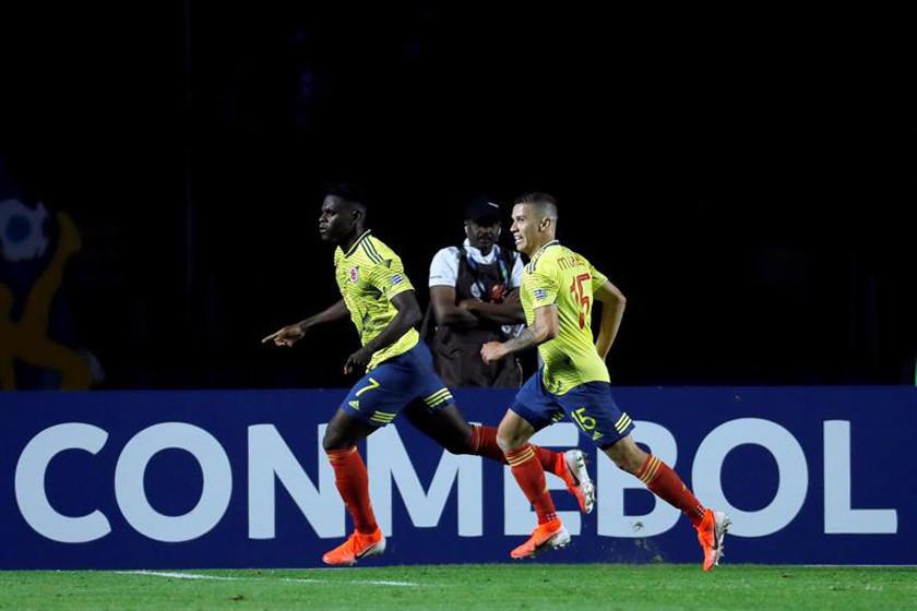 Colombia se clasifica a cuartos de final