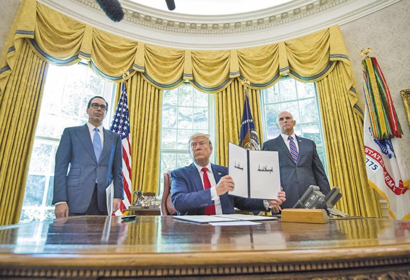 EE.UU. aumenta sanciones en contra de Irán y sube la tensión