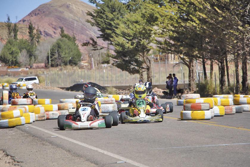 Karting evaluará el circuito de Potosí