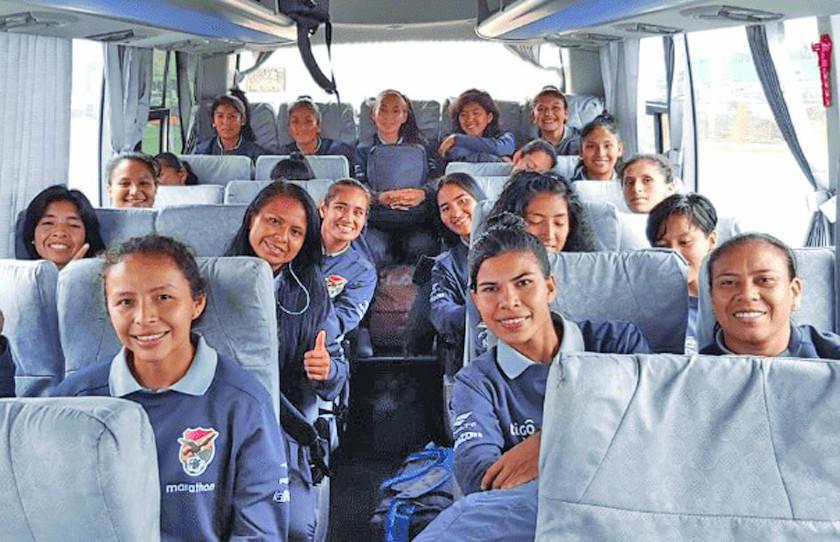 Selección femenina jugará amistosos con Perú