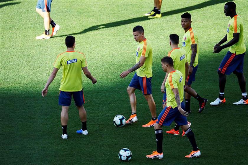 Colombia entrena en San Pablo