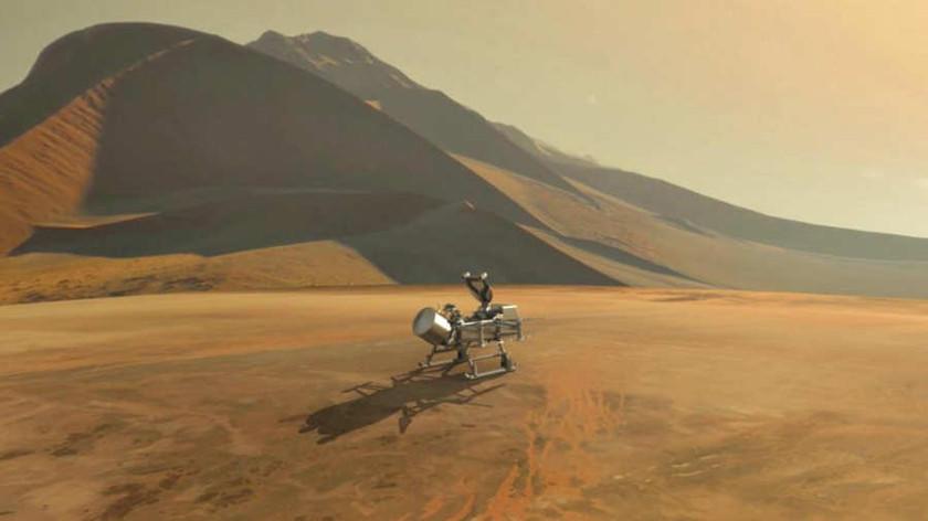 La NASA buscará vida en Saturno