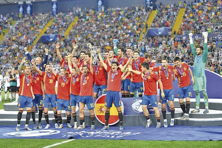 España ganó a Alemania y logró su quinta corona europea