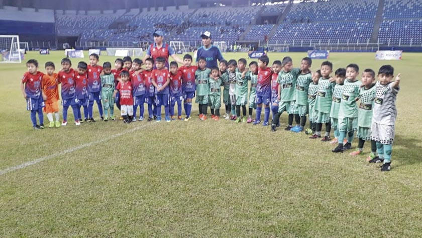 La kantera FC busca puntos en el torneo de clubes campeones