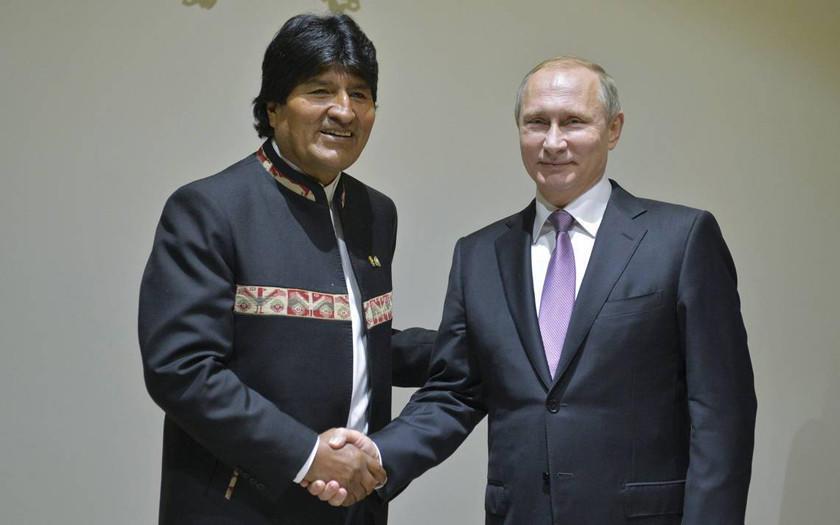 Evo: acuerdo con Rusia para industrializar litio se encuentra avanzado