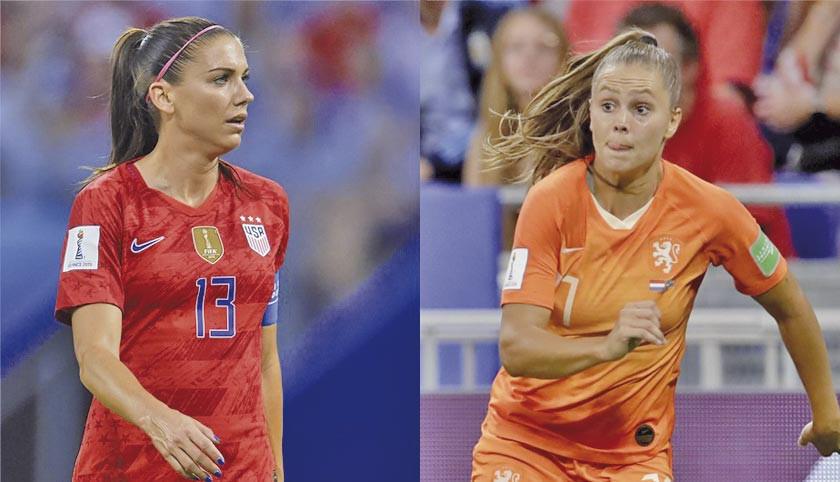 EE.UU. y Holanda luchan por la corona