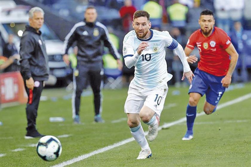 """Messi afirma que """"la corrupción"""" y los árbitros han arruinado el espectáculo"""