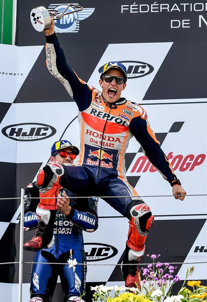 Márquez gana el GP de Alemania de MotoGP