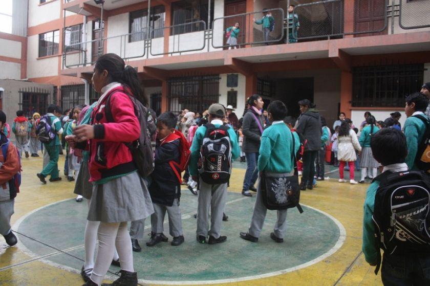 La gestión escolar en Potosí terminará la primera semana de diciembre