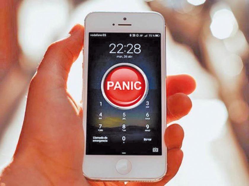 """Activan la aplicación """"Botón de pánico"""" para evitar feminicidios"""
