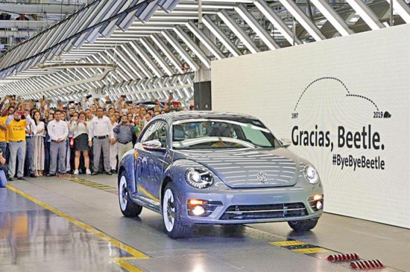 Volkswagen se despide de su emblemático Beetle