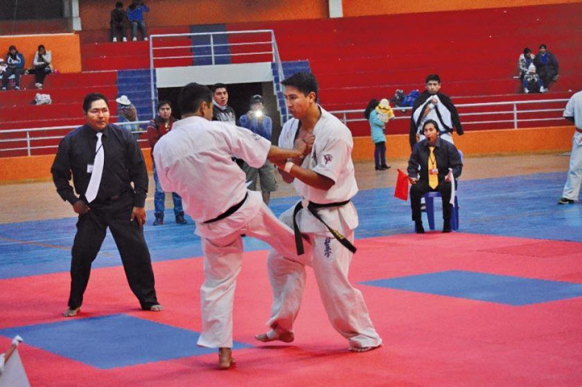 Nacional de karate tendrá la presencia de 500 atletas