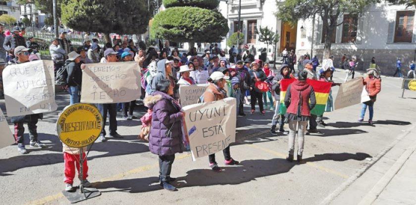 Pobladores de Uyuni exigen que se acelere juicio contra alcalde