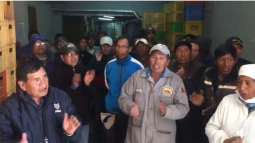 La reacción de los trabajadores de Panda tras conocer el apoyo de Real Potosí