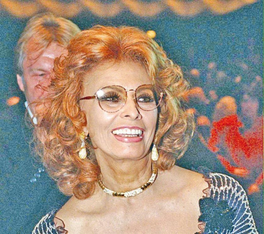 Sophia Loren vuelve a la pantalla grande a sus 84 años