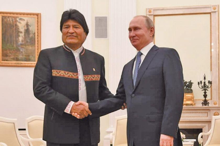 Rusia y Bolivia acuerdan impulsar el desarrollo del litio potosino
