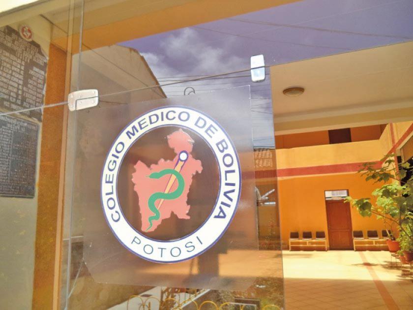 Colegio Médico de Potosí acata el paro nacional hoy