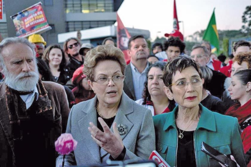 Rousseff pide liberación de Lula pero no de otros