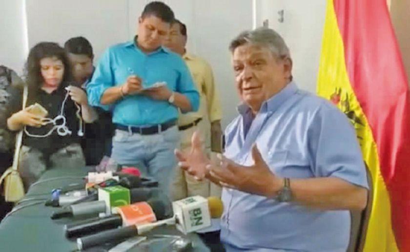 Tribunal Electoral rechaza renuncia de Jaime Paz Zamora a su candidatura
