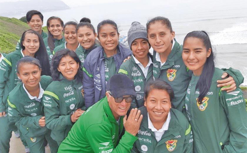 La selección femenina se prepara para jugar un cuadrangular en España