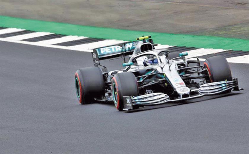 Bottas saldrá primero en el Gran Premio de Gran Bretaña