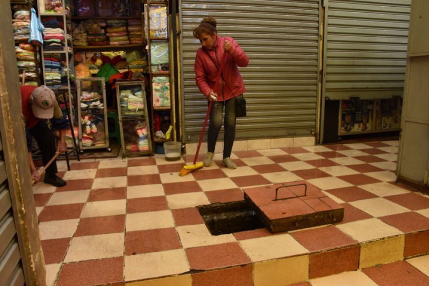 La Alcaldía limpia mercados desde junio, dice intendente