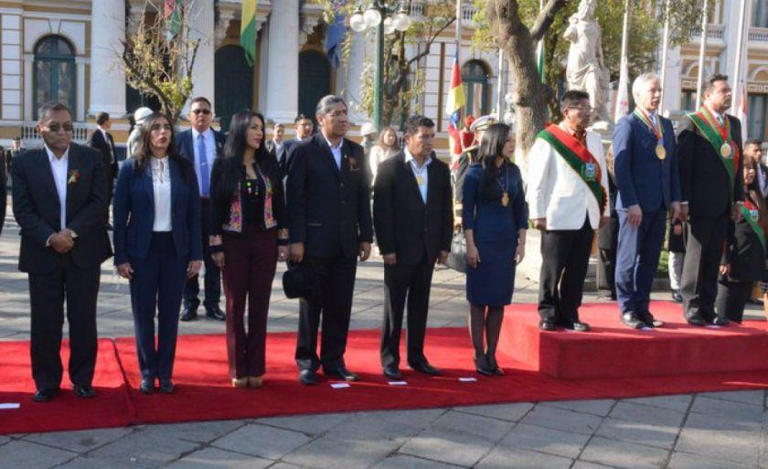 La Paz celebra los 210 años de su gesta libertaria con la ausencia de Evo