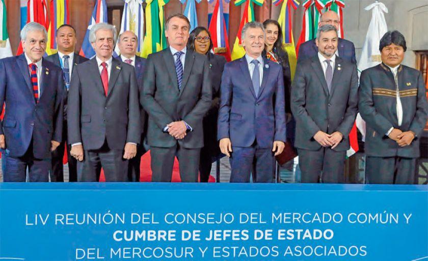 Brasil promete mantener el impulso del Mercosur