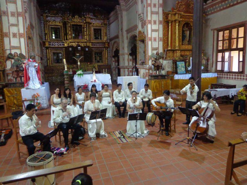 San Benito vivirá música antigua