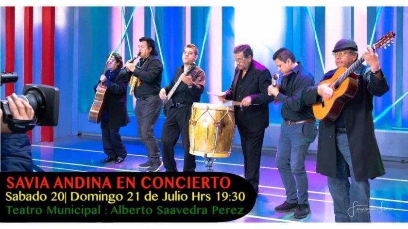 MINUTO A MINUTO: Siga el concierto de Savia Andina En La Paz