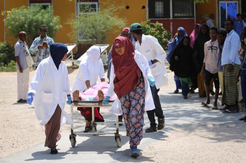 Once muertos y 15 heridos por un ataque cerca del aeropuerto de Mogadiscio