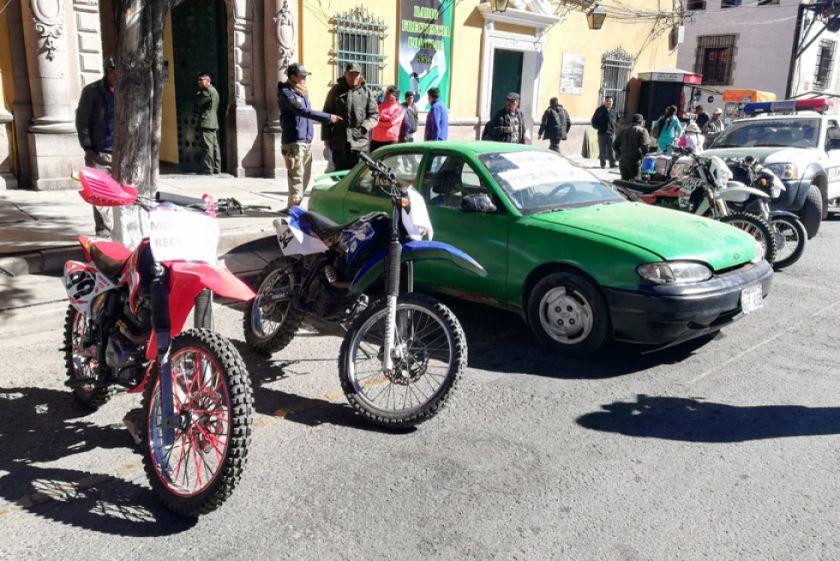 Motos robadas fueron ofrecidas en las redes