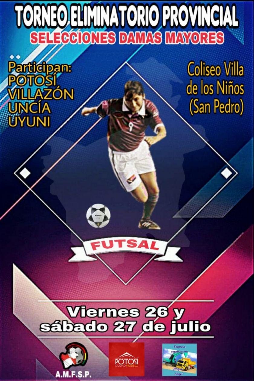 La Villa Imperial albergará el torneo provincial de futsal damas