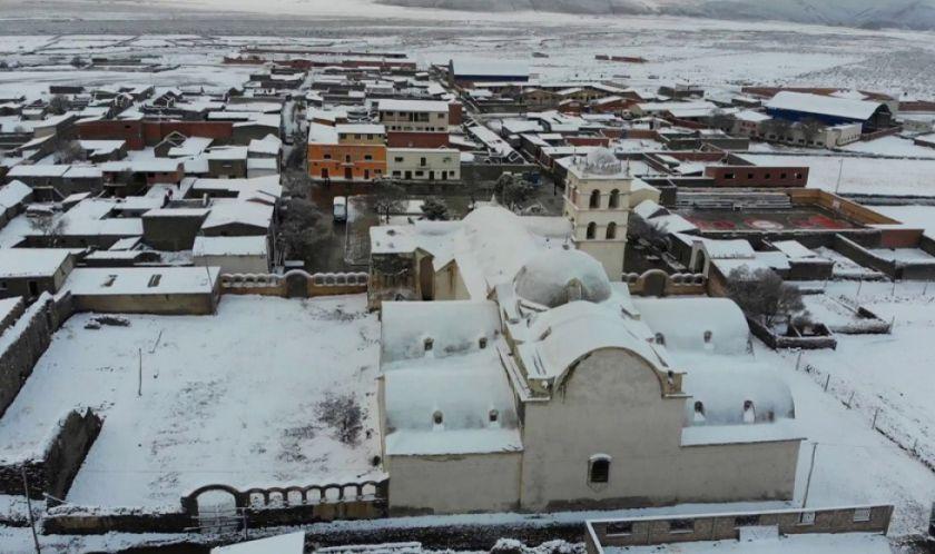 Reportan que 39 municipios de Potosí sufren bajas temperaturas