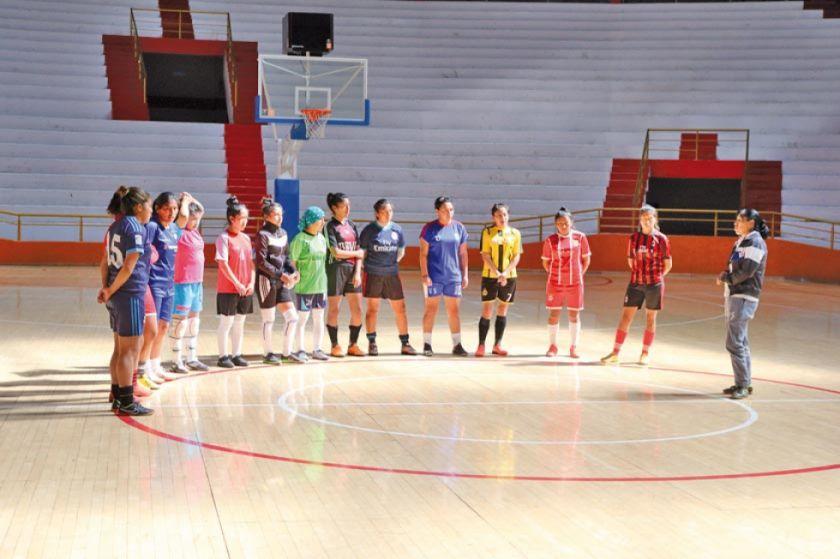 La Villa Imperial alberga el campeonato eliminatorio provincial de futsal damas