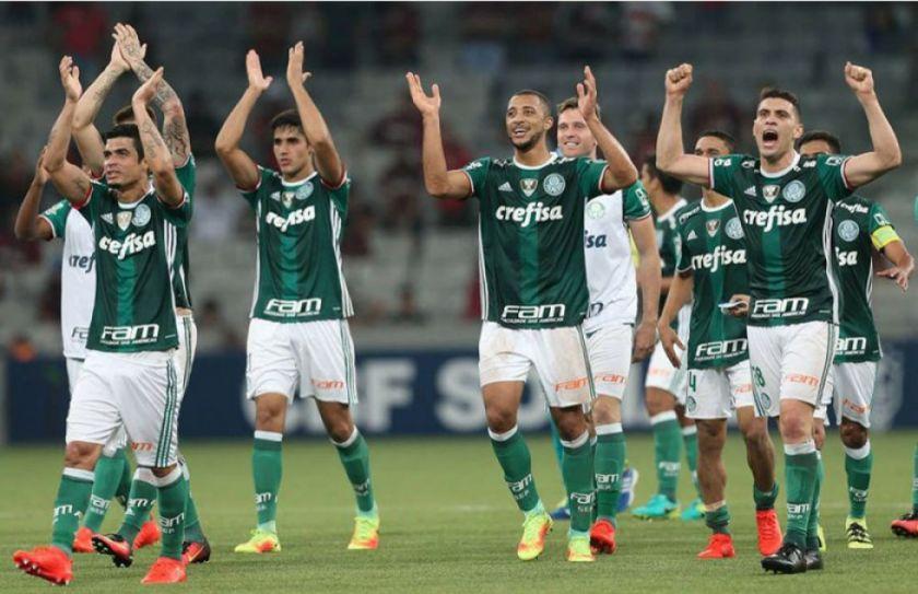 Palmeiras pone en riesgo su liderato en Brasil