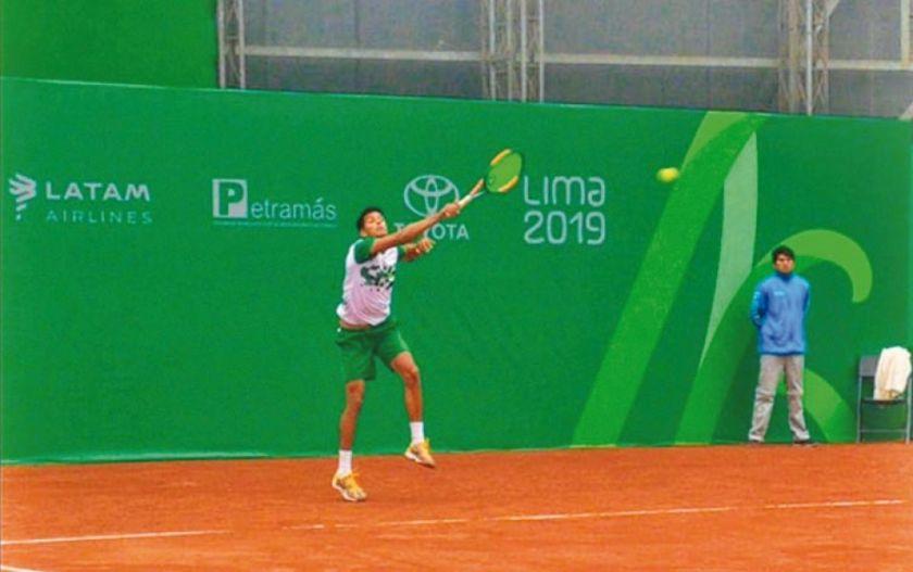 El tenis saca la cara por Bolivia en los Juegos Panamericanos Lima 2019